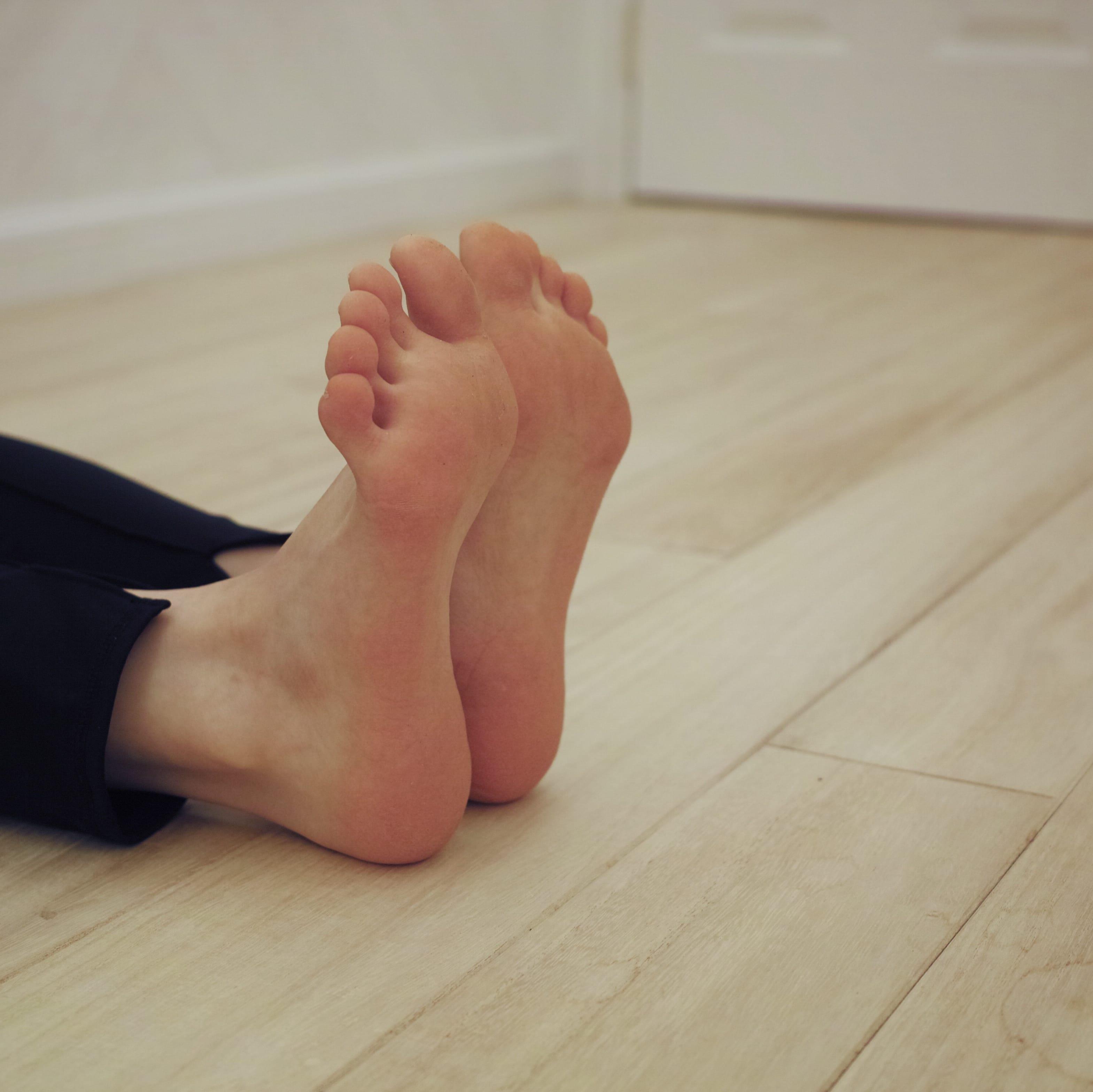 足指グーチョキパー